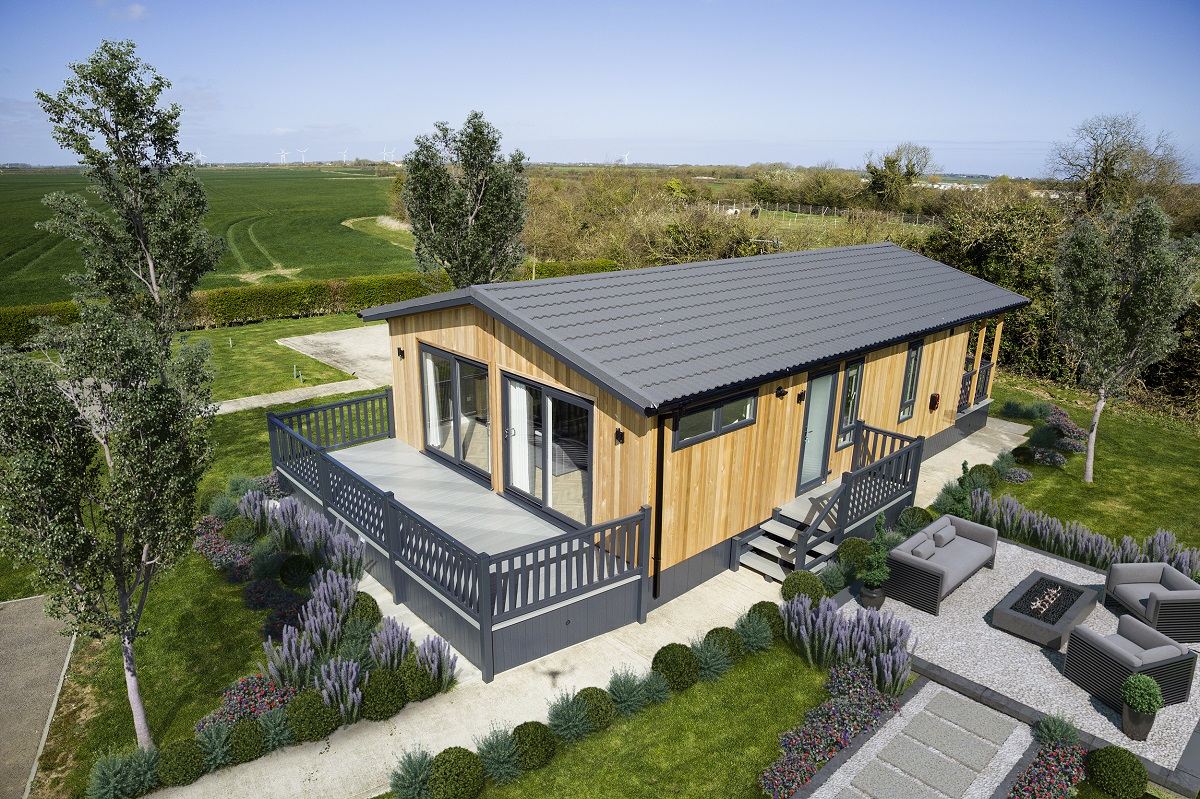 Retiring and looking to downsize then why not consider a holiday lodge to escape to Cornwall.